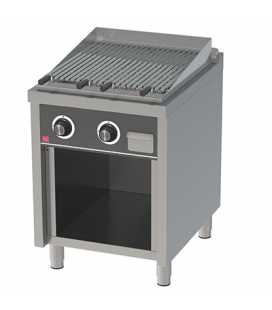 Barbacoa Industrial a Gas con Mueble 600 Serie 750 HR
