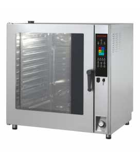 Horno Profesional Mixto Directo Programable 11 Bandejas GN2/1 Inoxtrend