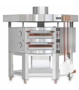 Horno de Pizzas Doble Eléctrico Digital Evolution EV 835/2DG Cuppone
