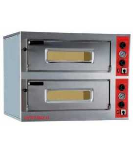 Horno de Pizzas Eléctrico Doble ENTRY MAX 12 PizzaGroup